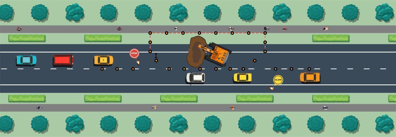 Road traffic management plans