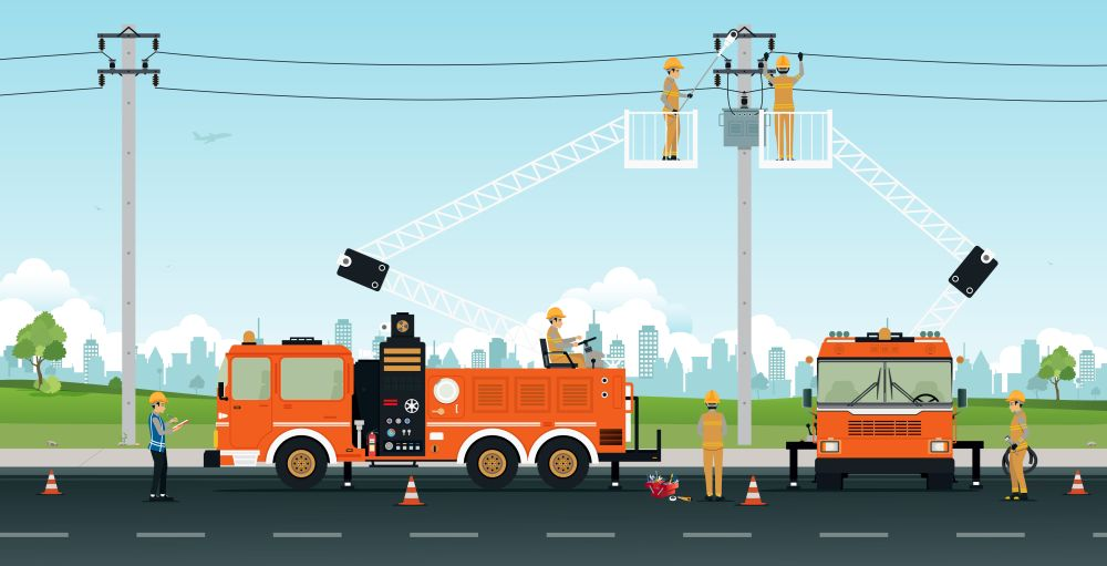 Traffic control equipment hire